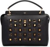 Fendi Black Studded Dotcom Bag