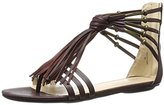 Nine West Women's Emberly Synthetic Gladiator Sandal