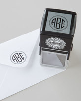 S.t.a.m.p.s. Three Designing Women Three-Initial Circle Monogram Stamper