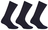 John Lewis Made In Italy Wool Rich Socks, Pack Of 3