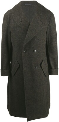 Yohji Yamamoto Long Double Breasted Coat