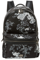 Dolce & Gabbana Floral Nylon Backpack