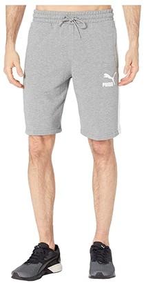 Puma Iconic T7 10 Shorts (Medium Gray Heather) Men's Shorts