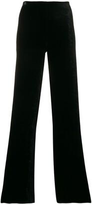 Romeo Gigli Pre-Owned High-Waist Flared Trousers