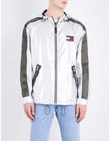 NOT APPLICABLE Tommy Hilfiger logo-patch shell jacket
