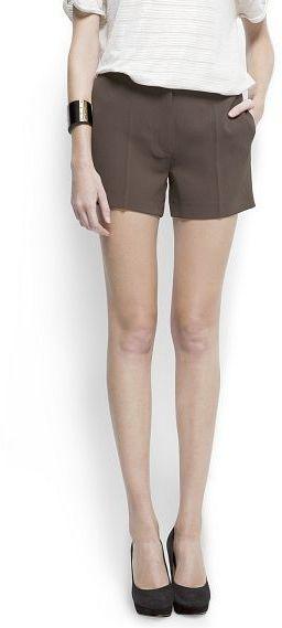 MANGO High waist shorts