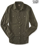 Aeropostale Mens Cape Juby Mini Arrow Print Button Down