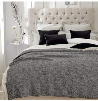 The White Company Denton Alpaca & Wool Blend Throw Blanket