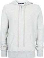 Bassike zipped hoodie