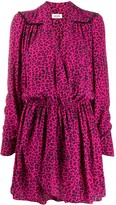 Zadig & Voltaire Zadig&Voltaire Reveal leopard print shirt dress