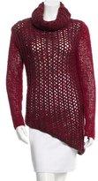 Helmut Lang Asymmetrical Long Sleeve Sweater