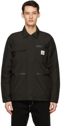 Carhartt Work In Progress Black Gore-Tex Michigan Jacket