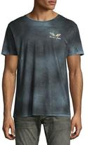 Robin's Jeans Distressed & Faded Logo T-Shirt