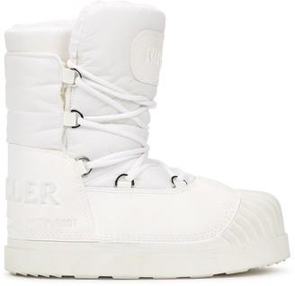 Moncler X Moon Boot Uranus white snow boots