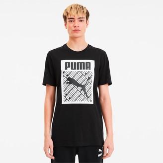 Puma Men's Logo Fill Tee