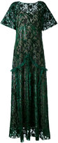 Rochas embroidered dress - women - Silk/Polyester/Viscose - 44