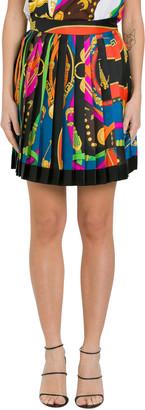 Versace Baroque Pleated Skirt