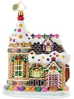 Christopher Radko Home Sweets Home Mid-Year Collectible Ornament