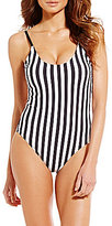 Gianni Bini Striped One Piece