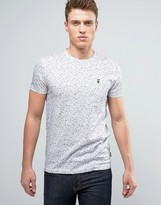 Ted Baker T-shirt In Fleck With Pocket