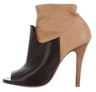 Maison Margiela Peep-Toe Ankle Boots