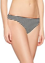 Triumph Women's Ocean Ripple Tai Bikini Bottoms, Multicoloured (BLACK COMBINATION)