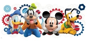 York Wall Coverings York Wallcoverings Mickey Mouse Clubhouse Capers Peel and Stick Giant Wall Decals
