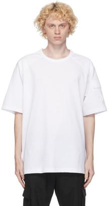 Juun.J White Pocket T-Shirt