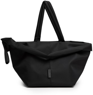 Côte and Ciel Amu Sport Black Sleek Nylon Tote Bag
