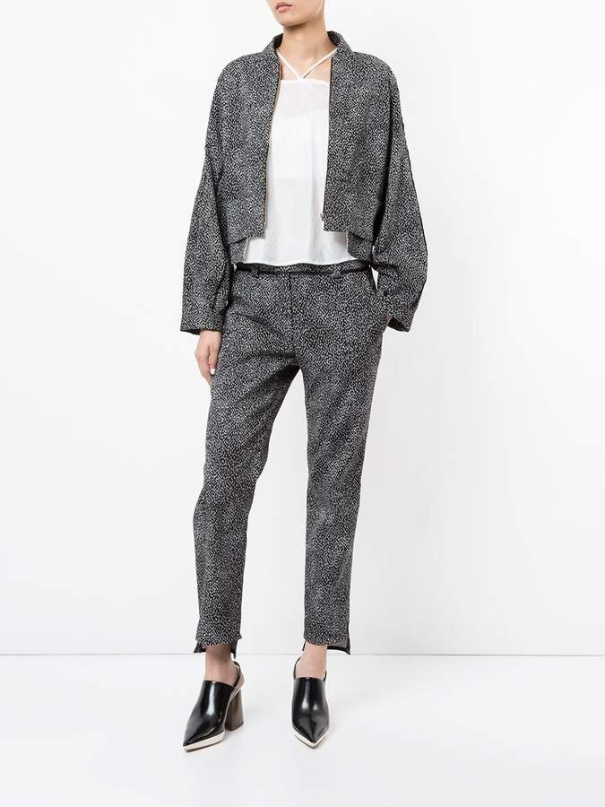 Taylor Conclusive printed trousers