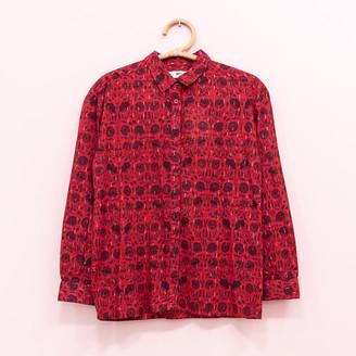 MKT Studio Mktstudio MKTSTUDIO - Printed Shirt Long Sleeve - 36   cherry red - Cherry red