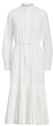 Ralph Lauren Broadcloth Dress