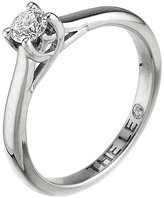 Leo Diamond 18ct white gold 0.25ct I-SI2 solitaire ring
