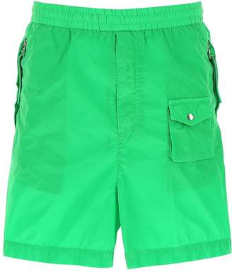 Moncler Genius 1952 Pocketed Logo Patch Shorts