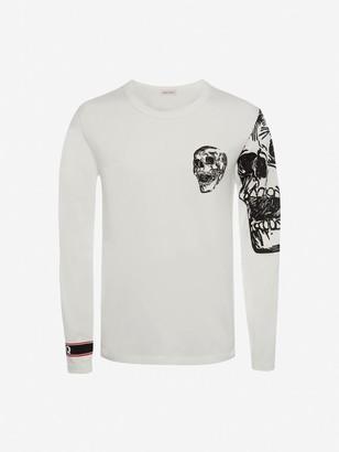 Alexander McQueen Biker Graphic T-Shirt