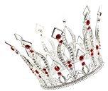 CamingHG Matte Plated Kids Girls Crown Tiara Wedding Birthday Prom Hair Accessories Super Mini Circle Round Princess Tiaras Hot Sale