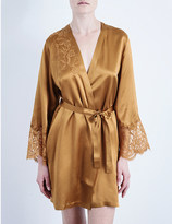 Marjolaine Tentation silk-satin robe