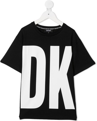 DKNY bold logo T-shirt