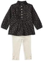 Ralph Lauren Infant Girls' Print Top & Ribbed Leggings Set - Sizes 3-24 Months