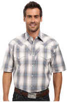 Stetson Stormy Plaid Snap Front Short Sleeve Shirt