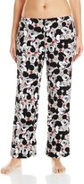 Disney Women's Ladies Plush Pants Mickey