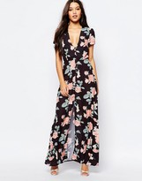 Oh My Love Maxi Tea Dress with Open Back