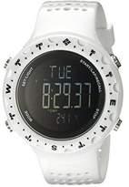 Columbia Men's CT004-100 Singletrak Digital Display Quartz White Watch