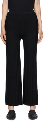 Totême Black Cour Lounge Pants