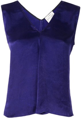 Forte Forte My Top sleeveless satin shift top
