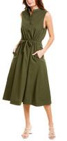 Stateside Mock Neck Midi Dress