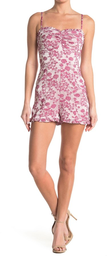 LIKELY Hyland Floral Sweetheart Romper