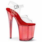 Pleaser USA Women's Flam808t/c/r Platform Sandal