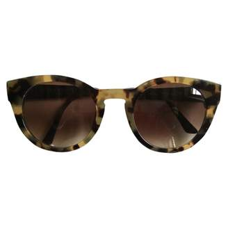 Thierry Lasry Brown Plastic Sunglasses
