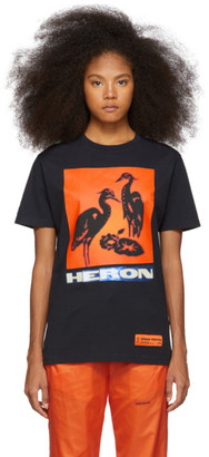 Heron Preston Black Heron Birds T-Shirt